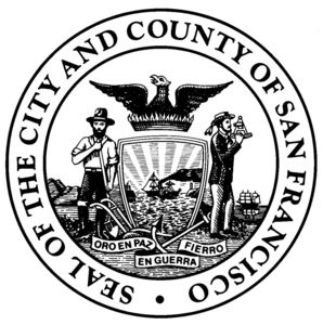 Dryfast seal of city and county of san francisco